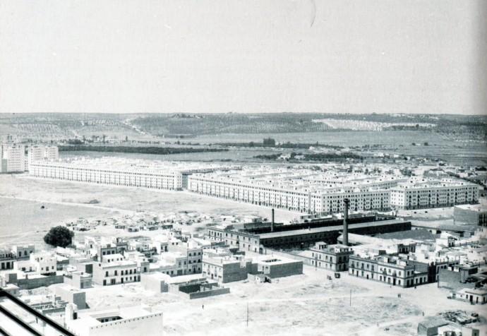 magen de la Barriada de San Gonzalo (El Tardon) a finales de los 50 0 primeros 60.