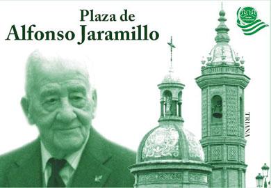 Azulejo de Plaza de Alfonso Jaramillo.