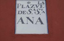PLAZUELA DE SANTA ANA