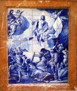 Resurrección de Cristo-PROPIA-Presbiterio, frontal izq