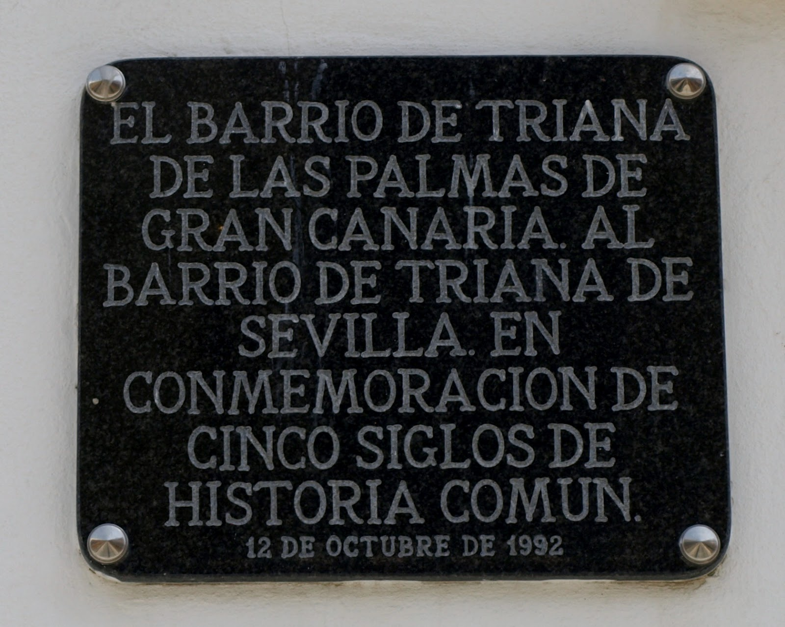 Resultado de imagen de BARRIO TRIANA GRAN CANARIAS