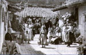 Corral de las angarillas, 1907, Triana