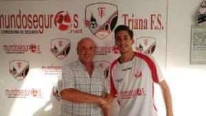 Jorge Arriaza, nuevo refuerzo del Mundoseguros Triana para la temporada 2016/17