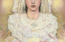 Cartel anunciador de la Coronación Canónica de Nuestra Señora de la Salud_ Detalles