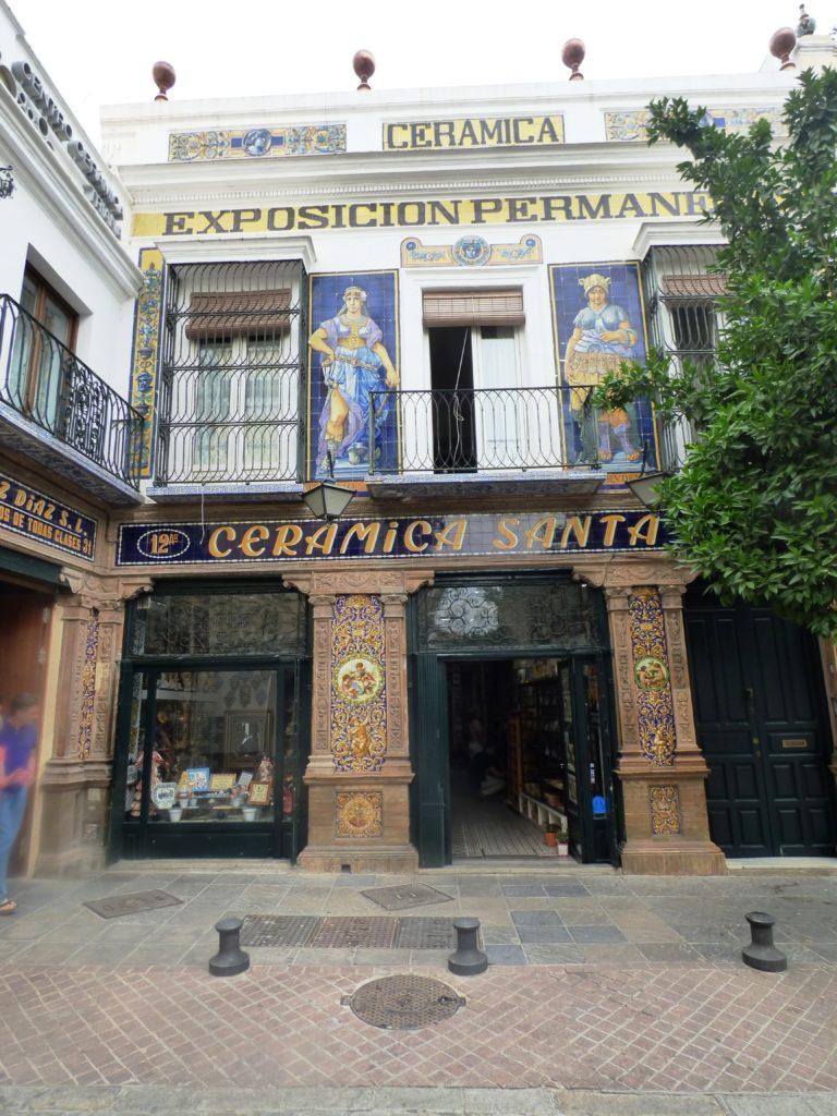 Antillano Campos, ágora sagrado de la cerámica trianera
