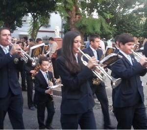Jovencísimo músico