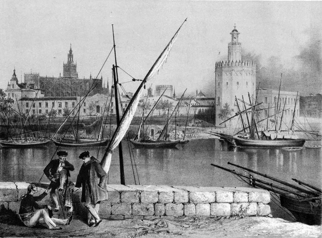 Sevilla desde Triana s.XVIII