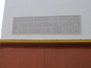 Placa inauguración