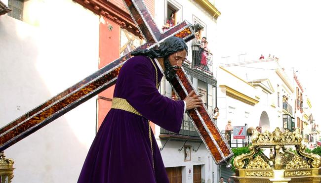 Hermandad Sacramental de Ntro. Padre Jesús Nazareno y María Stma. de la O.  Foto: ABC