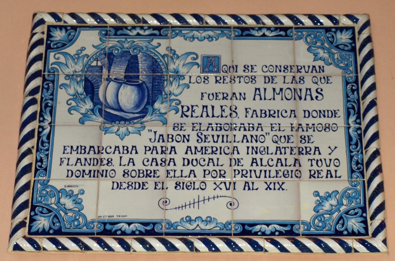 Reales Almonas, azulejo