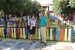 Plaza Aurelio Murillo_Obras finalizadas  Foto: europapress