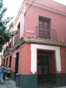 Entrada a la calle Fabié por Pureza. Foto JBG