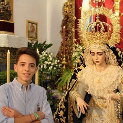 Rubén Terriza González cartelista del XII Pregón de la Juventud de San Gonzalo