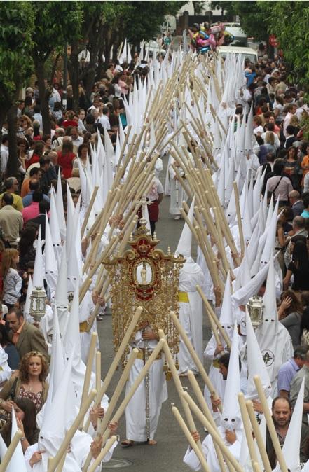 Semana Santa, Fila nazarenos San Gonzalo