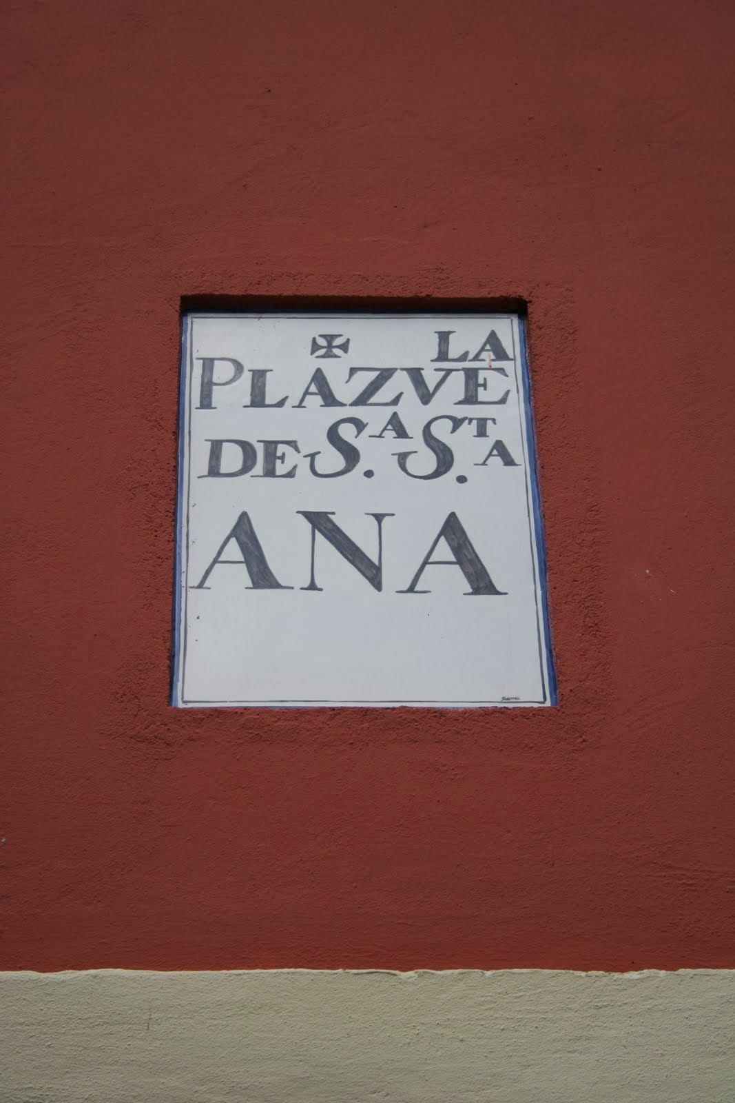 reurbanización plazuela santa Ana
