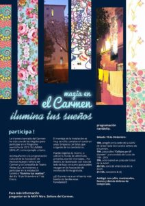 Cartel Bda el Carmen_ navidad 2015