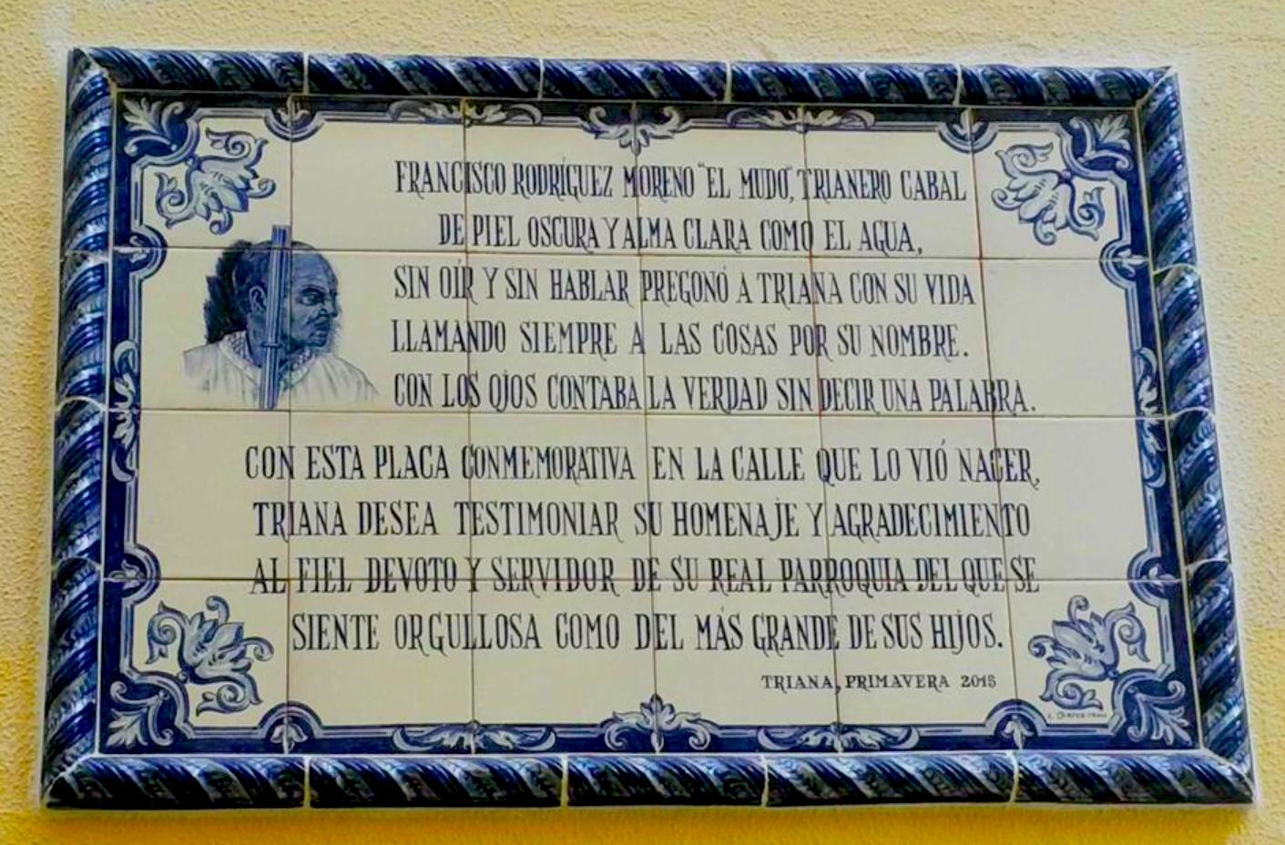 mudo de Santa Ana, Triana