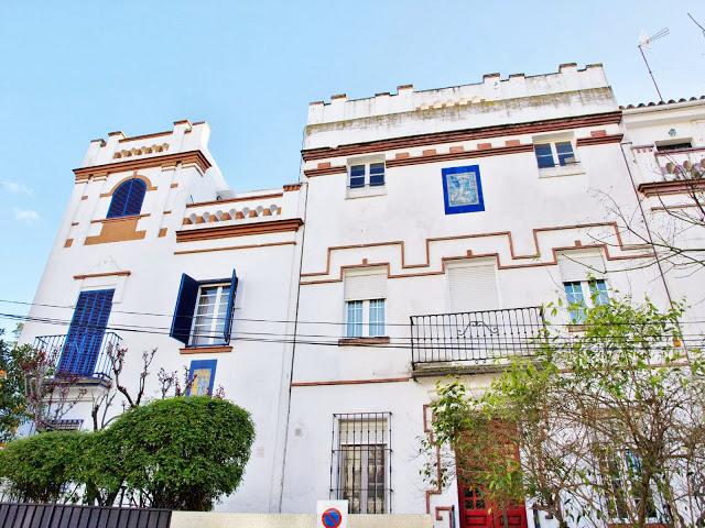 Villa Ave María calle Montevideo, Sevilla