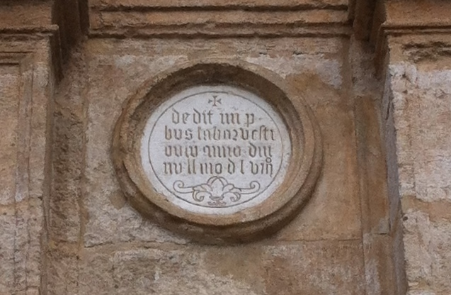 Detalle del arco de entrada a la Basílica