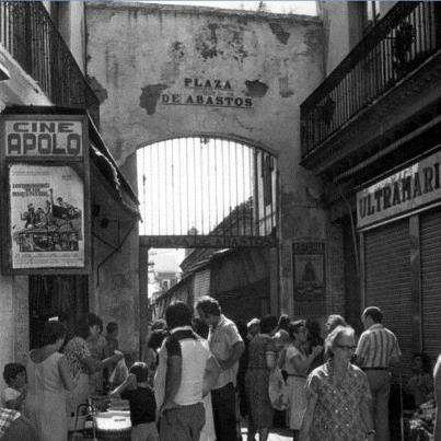 Mercado de Triana años setenta
