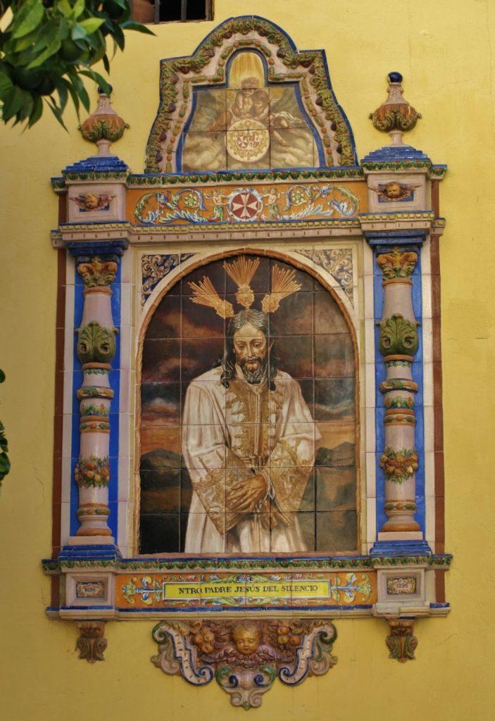 Nuestro padre Jesús del Silencio en el desprecio de Herodes