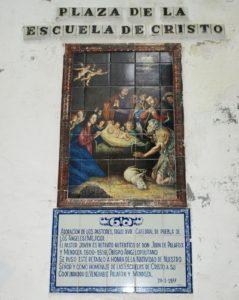 Retablo Natividad2, plz de la Escuela de Cristo