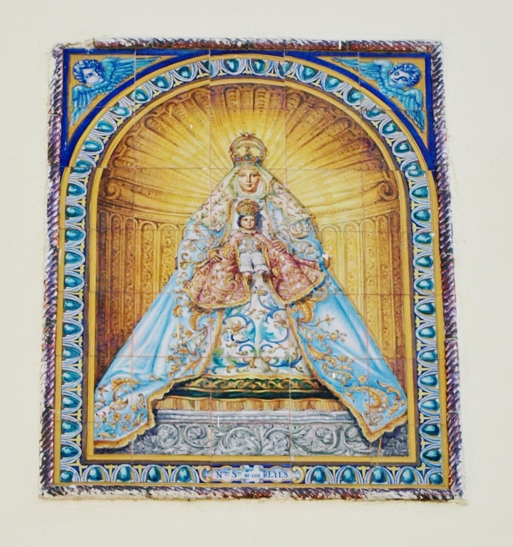 Retablo, Virgen de los Reyes