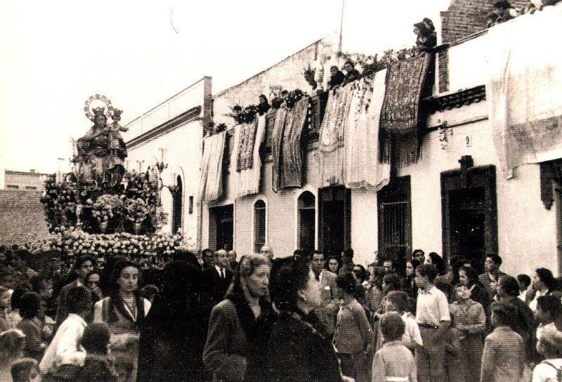 María Auxiliadora, barrio voluntad, 1950