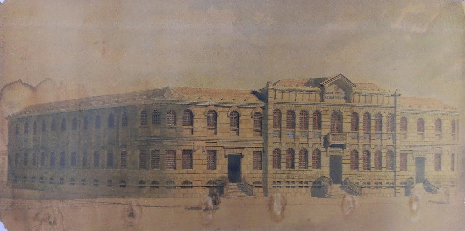 Triana, 1929, Colegio Reina Victoria