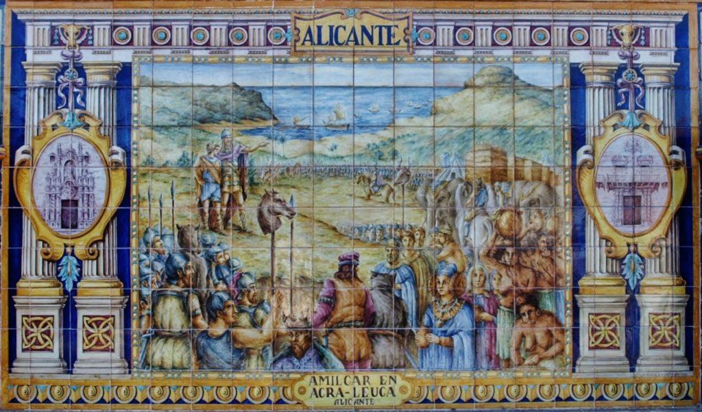 Alicante, cerámica de Triana,