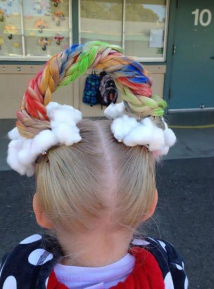 15 Divertidos Peinados Infantiles Para Fiestas El Diario De Triana