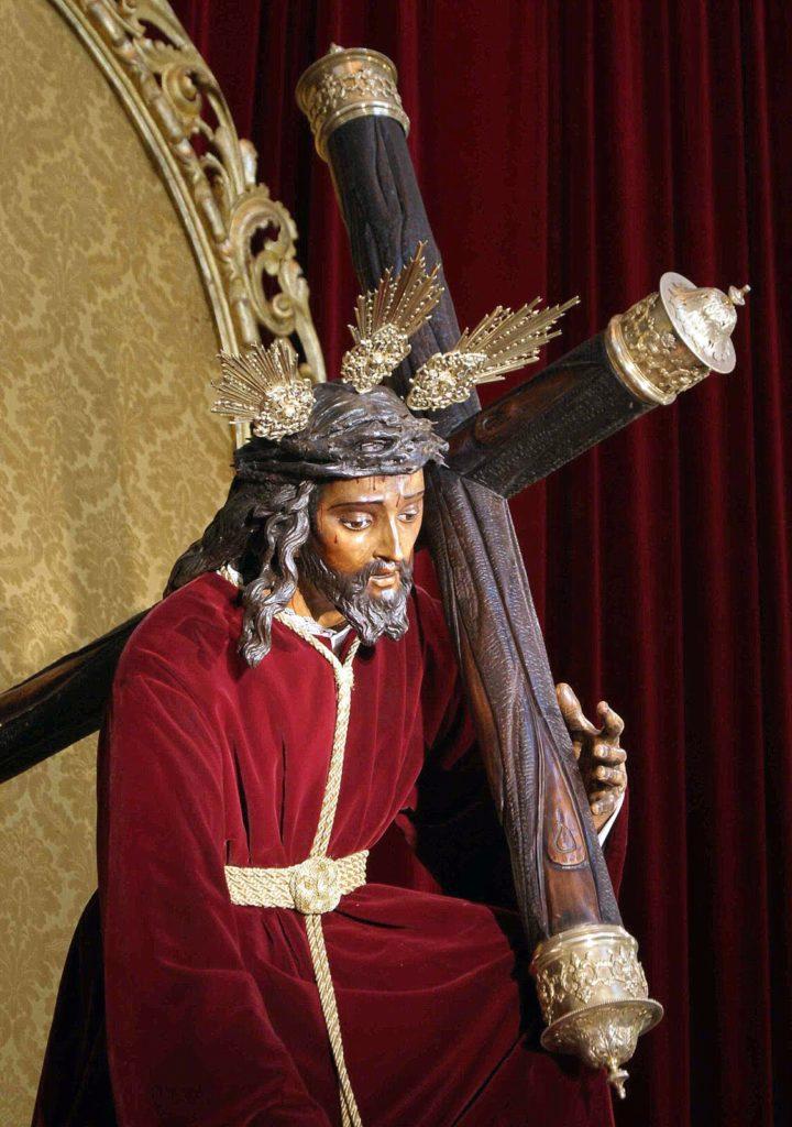Santísimo Cristo de las Tres Caídas. Detalle.