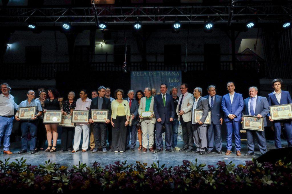 Galardonados Velá Santiago y Santa Ana 2016