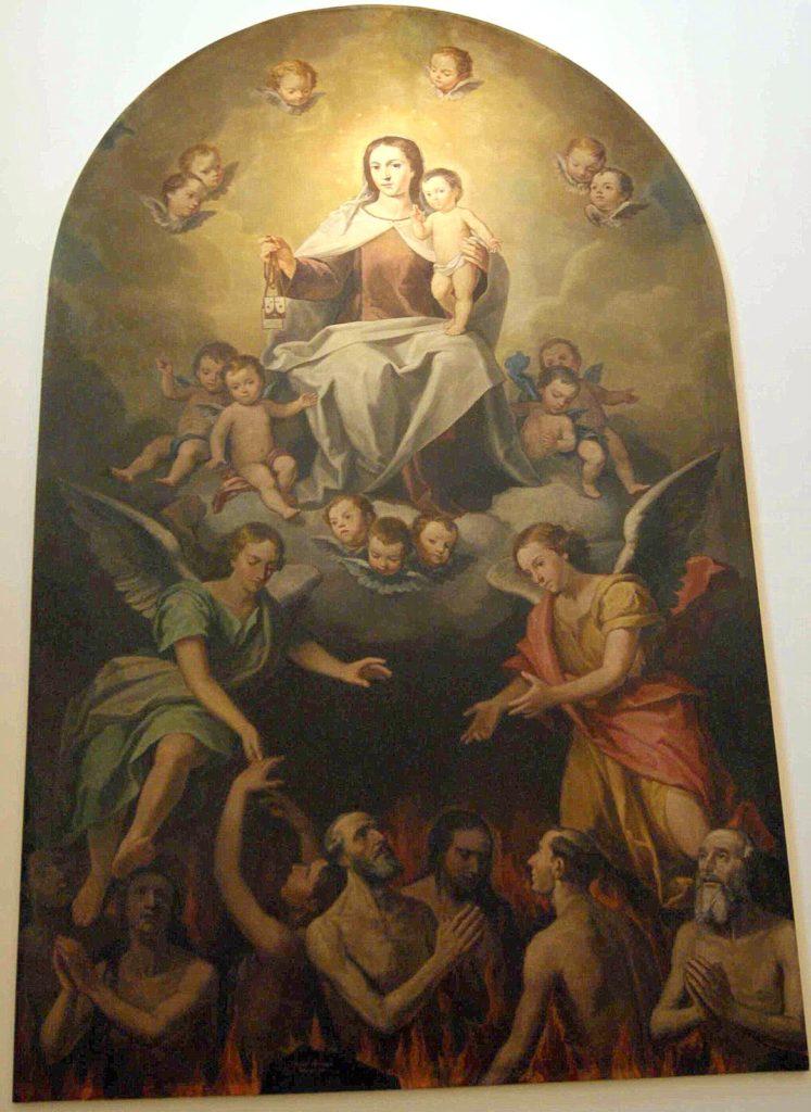 Virgen del Carmen y Ánimas