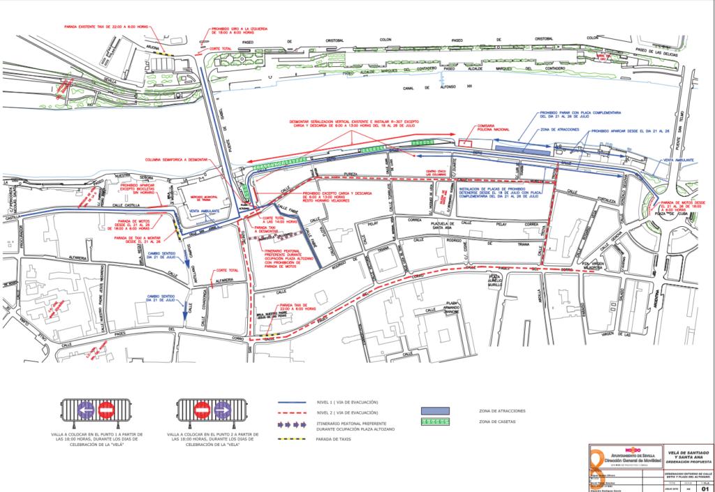 plano tráfico de la velá 2016