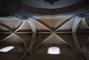 Bóveda de la nave del Evangelio