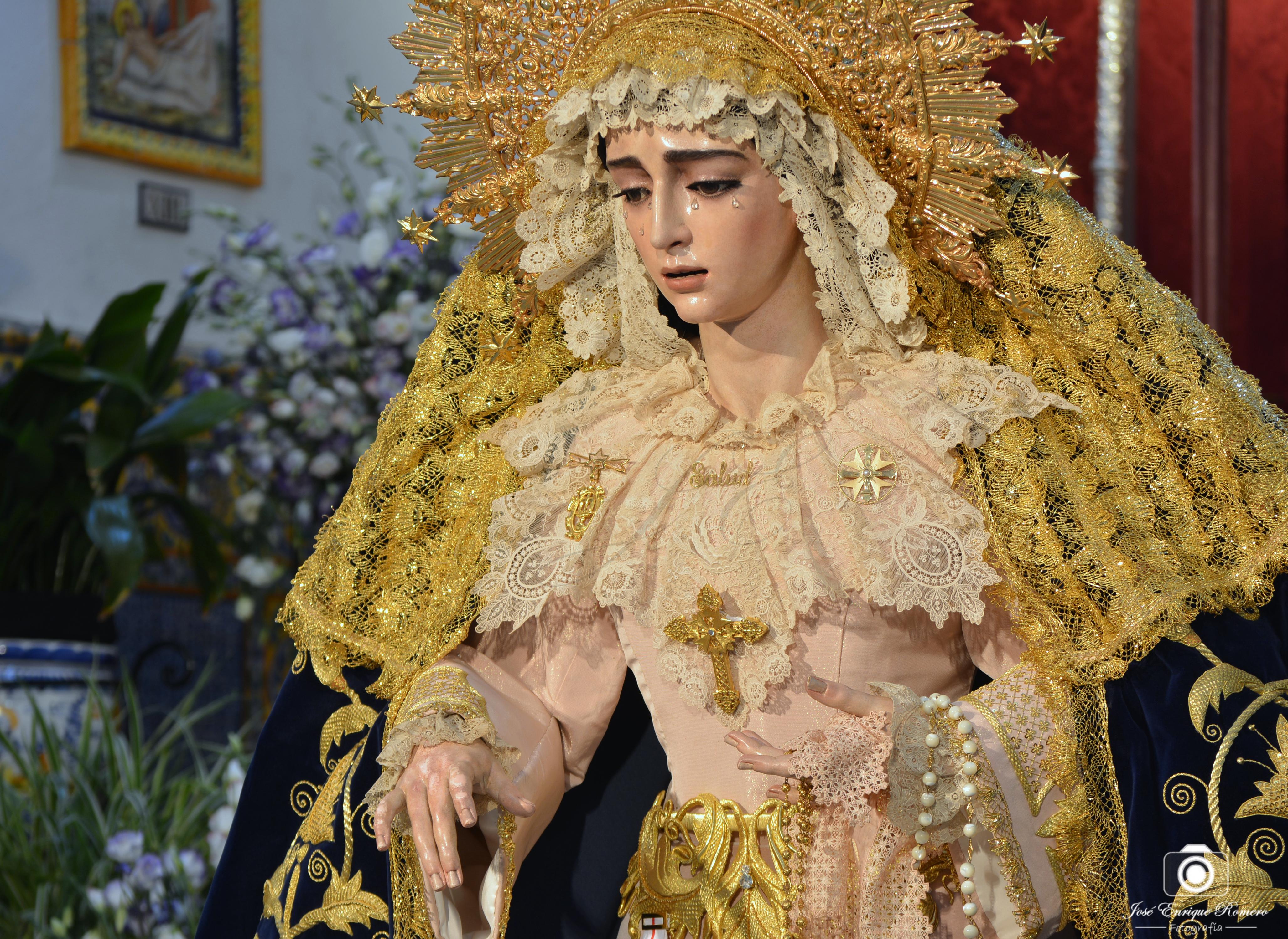 La Virgen De La Salud Si Presidira El Altar Mayor De San Gonzalo