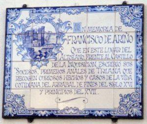 Altozano, azulejo, Francisco de Ariño