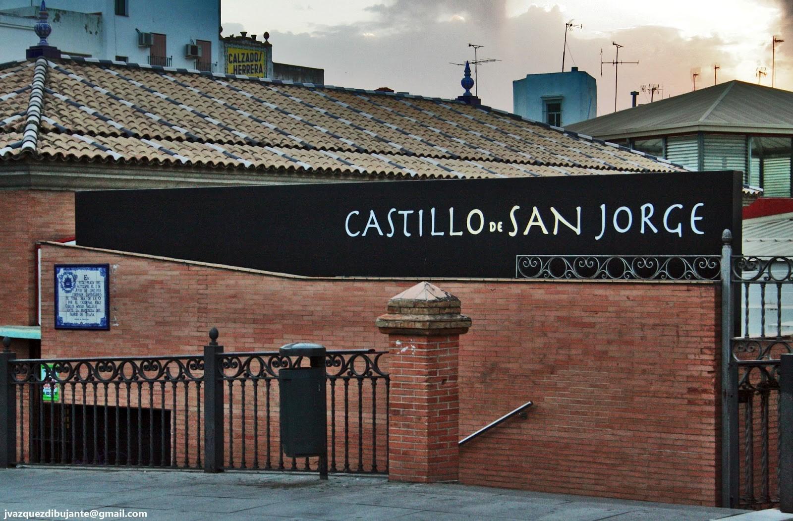 Castillo de San Jorge, Triana,