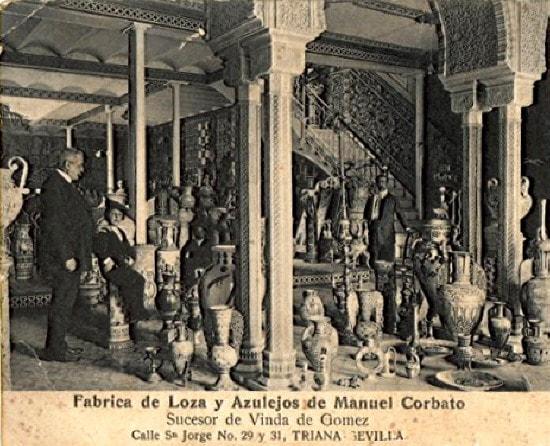 Fábrica Manuel Corbato Triana 1908