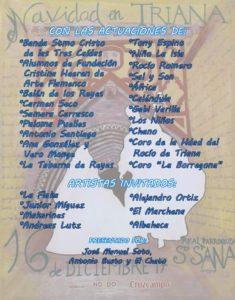 Concierto solidario Distrito triana y Parroquia Santa Ana.