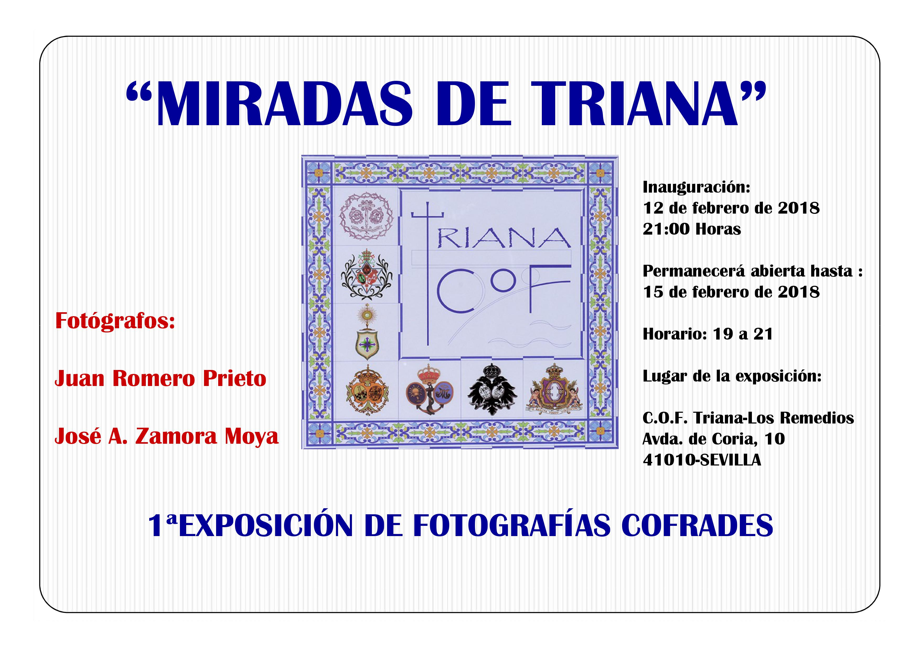 Exposición fotográfica , COF Triana