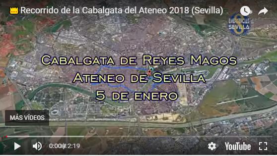 Recorrido Cabalgata Reyes Magos 2018