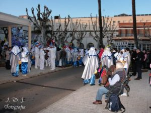 Cabalgata de Reyes Magos, Triana, 2018
