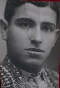 Juan Belmonte, joven