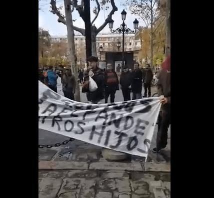 protestas por cierre mercadillo Charco de la Pava-min