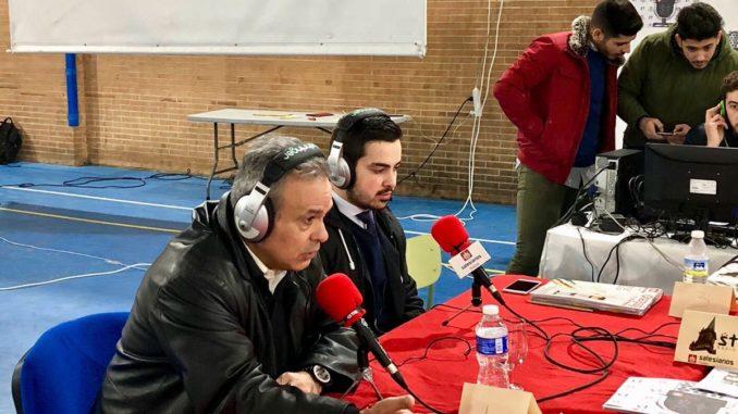STradio, Salesianos Triana, inauguración.