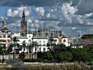Sevilla desde Triana cuando llueva