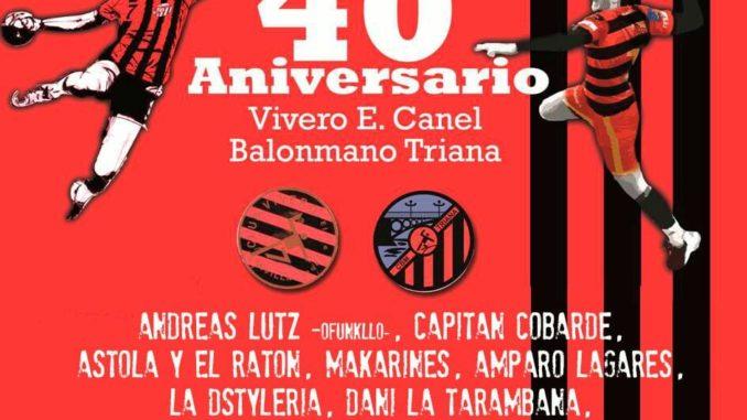 Cartel 40 años BmTriana