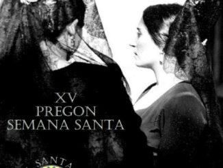 cartel, XV Pregón Semana Santa del Grupo de FielesNtra. Sra. Del Consuelo